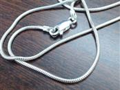 """20"""" Silver Snake Chain 925 Silver 3.8g"""